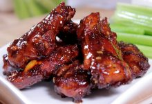 Gilligans Tangy BBQ Wings